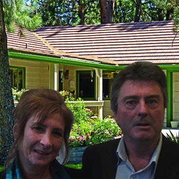 Alan and Rhonda